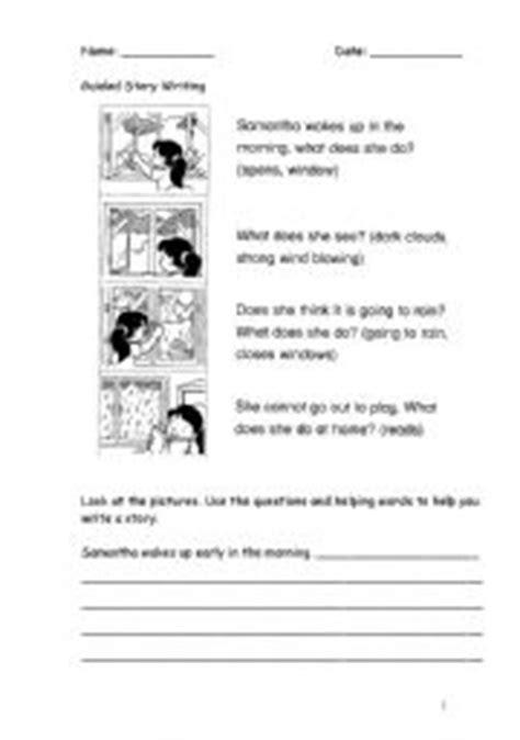 guided story writing esl worksheet by anooravi