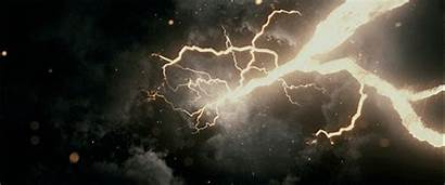 Electricity Lightning Universe Gifs Elemental Electric Animated