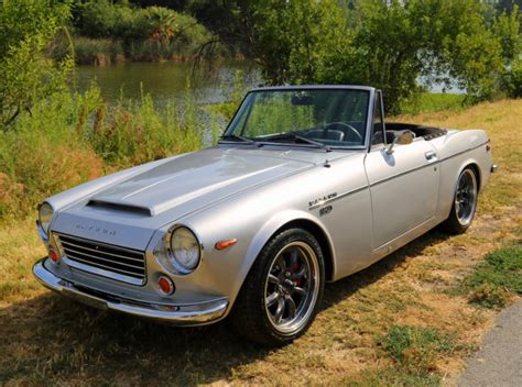 Datsun 1600 For Sale by Sr20 Powered 1969 Datsun 1600 Roadster Bring A Trailer
