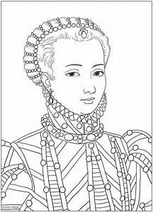 Ausmalbild Schu00f6nes Mu00e4dchen Marie Antoinette Bild Von