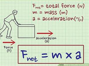 Newtonmeter Berechnen : 3 ways to calculate acceleration wikihow ~ Themetempest.com Abrechnung