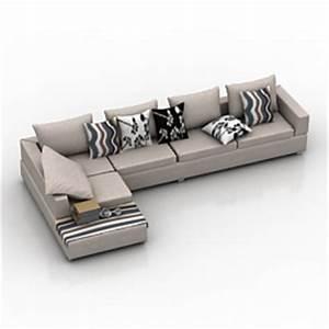 sofa max modelseu With living room furniture 3d model free download