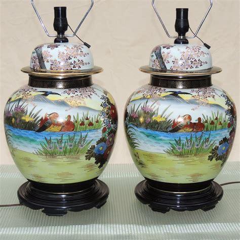 ginger jar table ls large pair ginger jar ls japanese kutani mid century