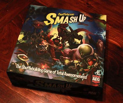 smash smashing game smashup robots cards dumeegamer box lex