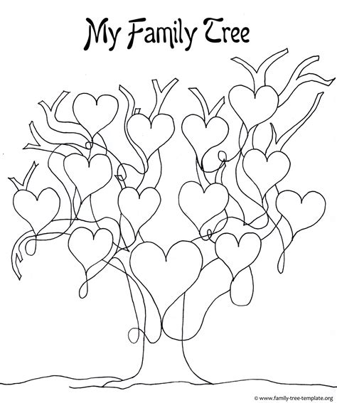 draw a family tree template drawing a family tree template a printable blank family tree to make your genealogy chart