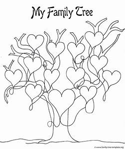 drawing a family tree template a printable blank family With drawing a family tree template