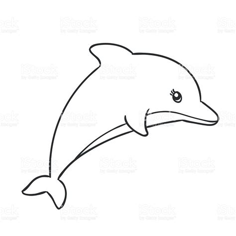 drawn dolphins cute pencil   color drawn dolphins cute