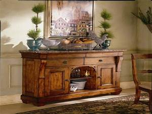 Decorate sideboard, dining room buffets and servers dining