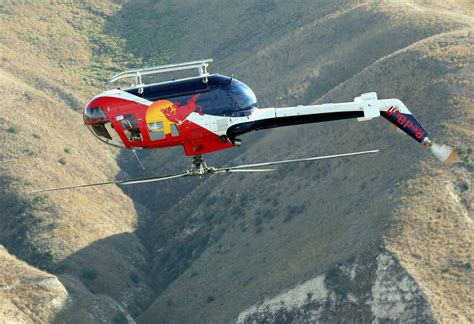 Bull Helicopter Pilot by Chuck Aaron And The Bull Aerobatic Helicopter