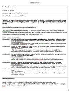 lesson plan exles physical education lesson plan template school ideas lesson plan