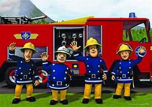 Tapete Feuerwehrmann Sam Tapete Feuerwehrmann Sam 12 Tlg