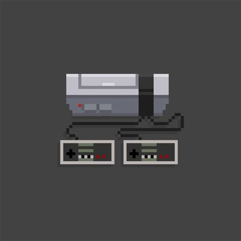 Nes 8 Bit Console Video Game Art And Design Pinterest