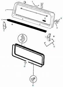 Yj Wrangler Windshield Frame Parts