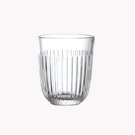 la rochère verre verre gobelet ouessant hauteur 9 5cm transparent nous