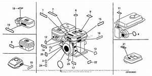 Honda Engines Gx160k1 Ld Engine  Jpn  Vin  Gcaak