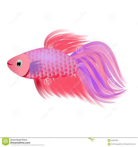 beautiful goldfish velvet fish aquatic animal cartoon