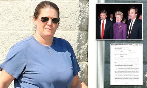 trumps launch  legal bid  gag presidents niece