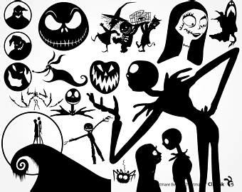 Silhouette Nightmare Before Christmas Characters Svg – 223+ Best Quality File