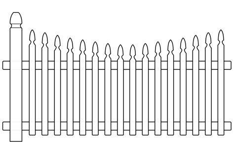 White Fence Png Transparent Clip Art Image