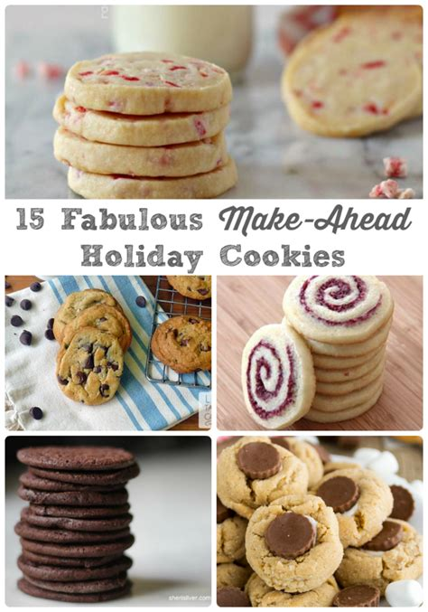 Here are 10 delicious cookie recipes that are perfect for winter holiday tables. 15 Fabulous Make-Ahead Holiday Cookies | Holiday baking ...