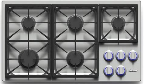 Dacor Gas Cooktop by Dacor Dyct365gslp 36 Inch Gas Cooktop With 5 Sealed