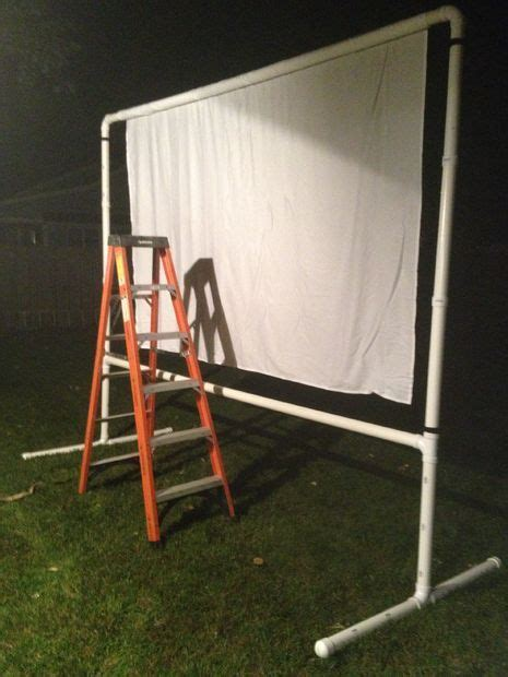 outdoor projector screen   budget outdoor projector