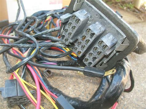 Mopar Wiring Harnes Connector by Nos Mopar 1970 Dodge Dart Dash Wiring Harness W Fuse