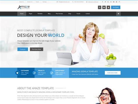 amaze corporate responsive multipurpose joomla template torrent 20 best joomla templates 2017