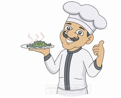 Animated Animation Clipart Chef Cooking Transparent Foods