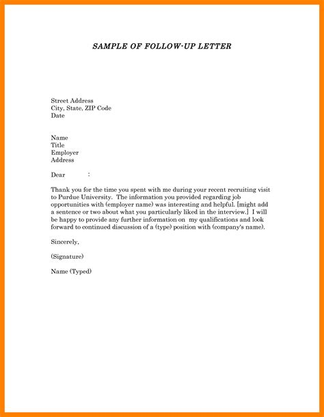 10 follow up letter application cover title page