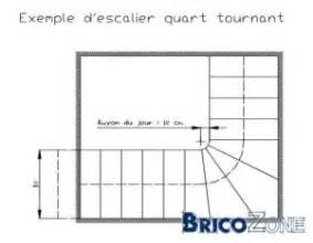 Calcul D Escalier Tournant by Calcul D Un Escalier Bois 1 4 Tournant Avec Palier