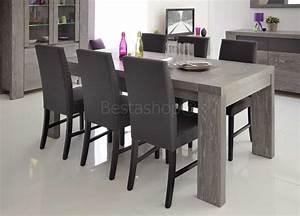 enchanteur modele de salle a manger moderne avec peinture With salle À manger contemporaine avec table 12 personnes salle manger