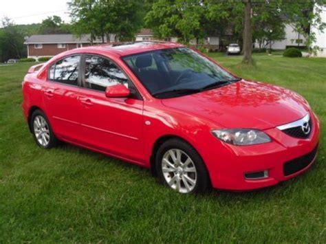 Buy Used 2008 Mazda 3 I-sport Sedan 4-door 2.0l / True Red