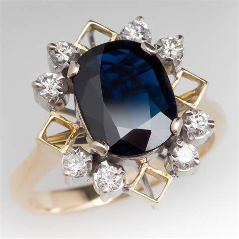 3 Carat Dark Blue Sapphire & Diamond Cocktail Ring 18k Gold. Menorah Necklace. Luxury Earrings. Therapy Bracelet. Metal Chains. Quality Tanzanite. Platinum Gold Wedding Band. Titan Wedding Rings. Bar Bangle Bracelet