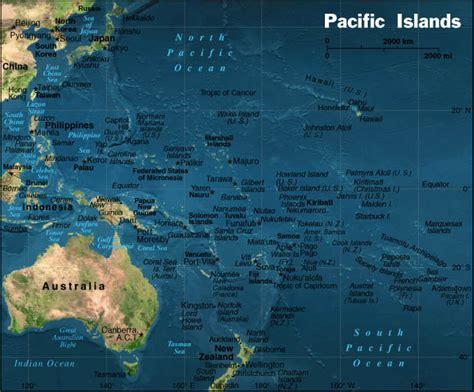 Stillehavet - oversigtskort