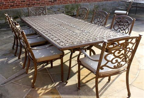 Garden Table And Chairs Sale by Casino 8 Seater Large Rectangle Table And Chairs Set