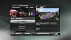 Grand Slam Tennis 2 - Career Mode 1st Match - YouTube