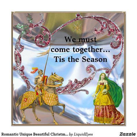 Romantic Unique Beautiful Christmas Invite Zazzle com
