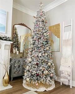 6, 5, Foot, King, Flock, Slim, Artificial, Christmas, Tree, 400, Led, Lights