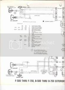 69 F600 Wiring Diagram