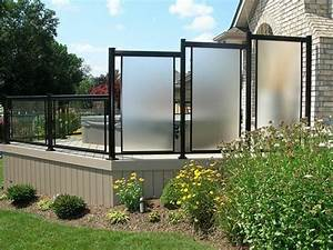 Terrassen Sichtschutz Modern : sichtschutz aus glas die neusten tendenzen in 49 bilder ~ Orissabook.com Haus und Dekorationen