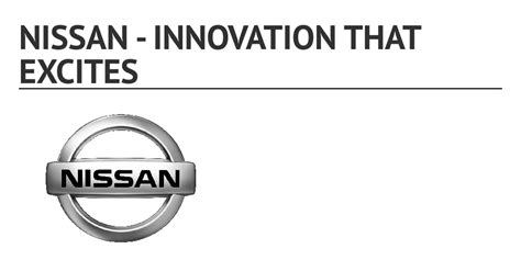 nissan innovation that excites logo nissan innovation that excites by 0153710 infogram