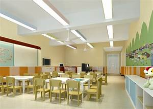 interior design kindergarten classroom With school classroom interior decoration