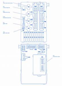 Mercury Cougar Part Ii 2000 Fuse Box  Block Circuit Breaker Diagram