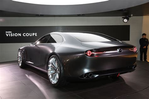 mazda vision coupe concept hints  rwd  rotary
