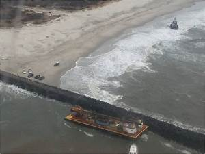 Tug And Barge Run Aground In New Jersey GCaptain