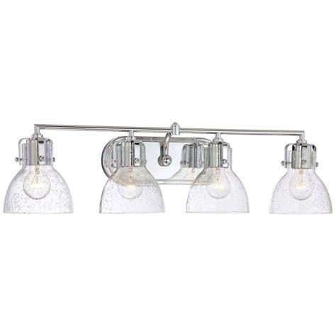4 bulb vanity light minka lavery 4 light chrome bath vanity light 5724 77