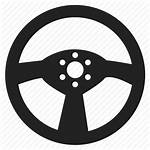 Wheel Driving Steering Icon Icons Cartoon Clipart
