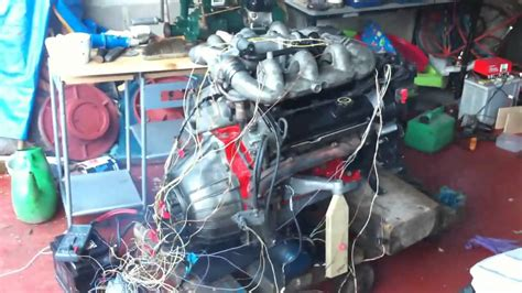 ford   cosworth bob engine start youtube