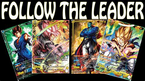 dragon ball super card game   cards leader